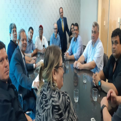 Reunião com fornecedores de alimentação para unidades prisionais