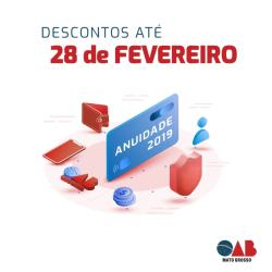 Campanha anuidade 2019