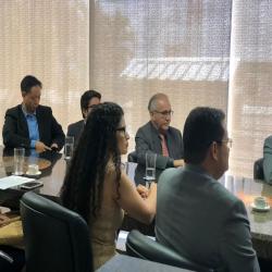 Reunião sobre decreto de regulamentação das cantinas - Fotografo: Luiza Zanella