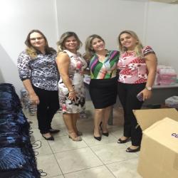 Doação de kits escolares a Escola Ulisses Guimarães