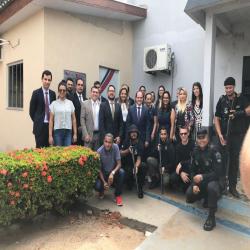 Inauguração parlatório cadeia de Peixoto de Azevedo