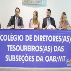 I Colégio de Diretores Tesoureiros da OAB-MT