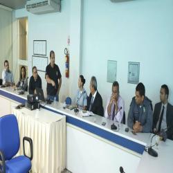 Reunião para prevenção ao uso de drogas