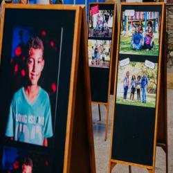 Exposição O que os olhos veem o coração sente - Fotografo: George Dias/ ZF Press
