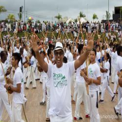 Comissão de Defesa da Igualdade Social representa OAB-MT em festa da capoeira nos 300 anos de Cuiabá