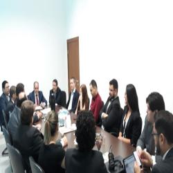 Reunião com procuradores municipais de Tangará da Serra
