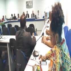 Reunião ampliada da Comissão de Defesa da Igualdade Racial - Fotografo: Assessoria/OAB-MT