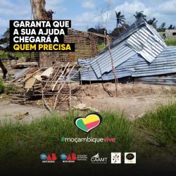 Campanha Moçambique Vive lançamento