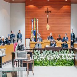 Solenidade de 145 anos do Poder Judiciário - Fotografo: George Dias/ ZF Press