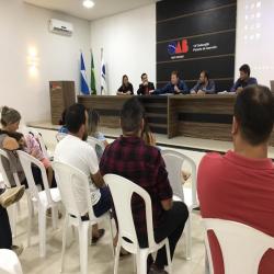 Reunião OAB Peixoto e companhia de água