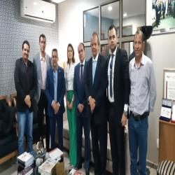 Reunião com a comitiva de Aripuanã