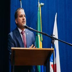 Posse das Comissões Temáticas 2019 - 2021 e entrega de doações a funcionários da Santa Casa e detentas - Fotografo: George Dias/ZF Press