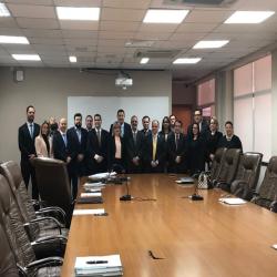 Dez subseções da OAB-MT reúnem-se com Presidência do TJ