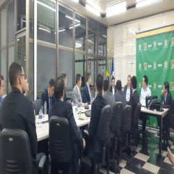 Reunião da Comissão de Direito Eleitoral no TRE-MT - Fotografo: Sissy Cambuim