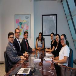 Reunião de comissões da OAB-MT com presidência do TRT-MT - Fotografo: Alessandro Cassemiro/TRT-MT