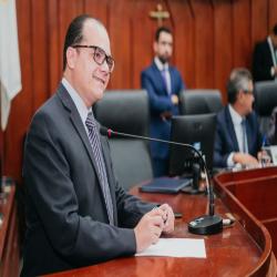 Sessão da Câmara de Cuiabá - Aprovação do Projeto que combate a violação às Prerrogativas - Fotografo: George Dias/ ZF Press