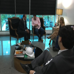 Reunião com deputado Dr João