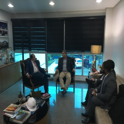 Reunião com o conselheiro Guilherme Maluf