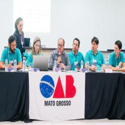 Colégio de Presidentes e Delegados (as) do Sistema OAB-MT - Fotografo: George Dias