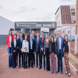 Inauguração do Parlatório da Mata Grande