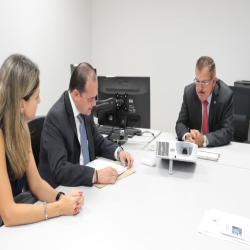 OAB-MT debate aperfeiçoamento do sistema de Justiça com CNJ - Fotografo: Foto: Alair Ribeiro/TJMT
