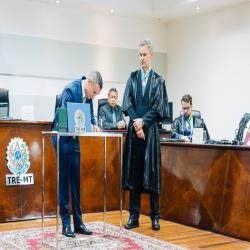 Posse Jackson Coutinho como juiz-membro do TRE-MT