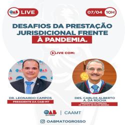 Live OAB-MT e TJMT