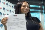 Capa do Vídeo: OAB-MT celebra Daniella Veyga, primeira mulher trans a receber certidão de estagiária