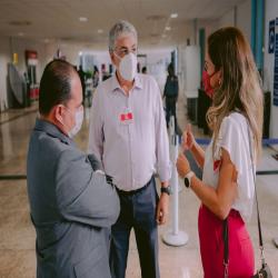 Diretoria recebe advocacia na reabertura do Fórum - Fotografo: Georgr Dias / ZF Press