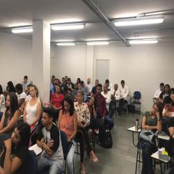Palestra na Semana Acadêmica da FCR